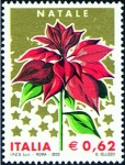 Stamps Italy -  2578 - Poinsettia