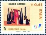 Stamps Italy -  2568 - Naturaleza muerta, de Giorgio Morandi