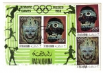 Sellos de Asia - Emiratos Árabes Unidos -  Juegos Olímpicos 1968