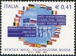 Stamps Italy -  2493 - Cumbre OTAN