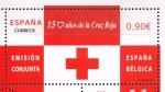 Stamps Europe - Spain -  Edifil  4828  150 años de la Cruz Roja Emisión conjunta España-Bélgica.