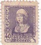 Stamps Spain -  Isabel La Católica  (10)