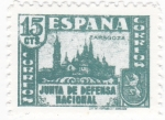 Sellos de Europa - España -  Zaragoza- Junta de Defensa Nacional  (10)