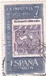 Stamps : Europe : Spain :  V Centenario de la Imprenta  (10)