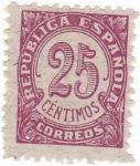 Sellos de Europa - España -  CIFRAS (10)