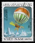 Stamps Gabon -  BLOBO AEROSTÁTICO