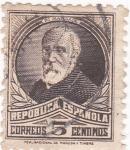 Sellos de Europa - España -  Francisco Pí i Maragall- político  (10)