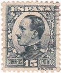 Sellos de Europa - España -  Alfonso XIII- Tipo Vaquer de perfil (10)