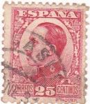 Sellos del Mundo : Europa : España : Alfonso XIII- Tipo Vaquer de perfil (10)