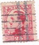 Sellos del Mundo : Europa : España : Alfonso XIII-Sobrecargados (10)