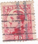 Stamps Spain -  Alfonso XIII-Sobrecargados (10)