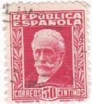 Stamps Spain -  Pablo Iglesias- político (10)