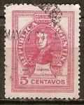 Sellos de America - Argentina -  José Francisco de San Martín (1778-1850).