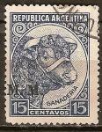 Sellos del Mundo : America : Argentina : Producción e Industria. Premio Toros.
