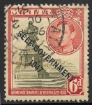 Sellos de Europa - Malta -  Statue of Antonio Manoel de Vilhena