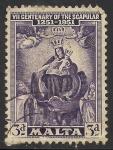 Sellos del Mundo : Europa : Malta : La Virgen y el niño.