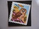 Sellos de America - Estados Unidos -  Boreal Owl (Aegolius funereus)