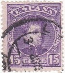 Sellos del Mundo : Europa : España : Alfonso XIII- Tipo cadete  (10)