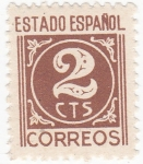 Stamps : Europe : Spain :  CIFRA       (10)