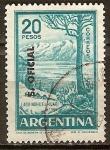 Sellos del Mundo : America : Argentina :  Lago Nahuel Huapi.