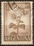 Sellos del Mundo : America : Argentina : Girasoles.