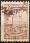 Sellos de America - Argentina -  Planta industrial.