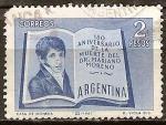 Sellos del Mundo : America : Argentina : 150a Aniv de la muerte del Dr. M. Moreno.
