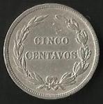 monedas de America - Ecuador -  MONEDA DECIMAL ECUADOR 1917 - FRONTAL