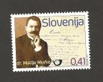 Sellos de Europa - Eslovenia -  Dr. Matia Murko