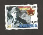 Stamps Slovenia -  Franc Rozman