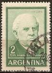 Sellos del Mundo : America : Argentina : Presidente Domingo Faustino Sarmiento (1811-1888).