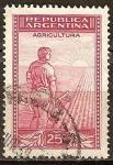 Sellos de America - Argentina -  Producción e Industria. Labrador.