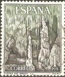 Stamps Spain -  CUEVAS  DEL  DRAGÒN