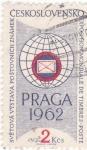 Sellos de Europa - Checoslovaquia -  Exposición mundial de sellos Praga-62