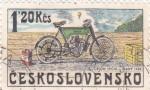 Stamps Czechoslovakia -  Motocicleta- Orion Michl-Slany 1903