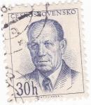 Stamps Czechoslovakia -  Antolín Zopotoky- político