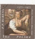 Stamps Poland -  Pintura desnudos Rubens 1577-1977