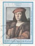 Stamps Cuba -  Francesco M. della Rovere- 500 Aniversario nacimiento de Rafael