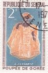 Stamps Senegal -  Poupé de Gorée