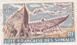 Sellos de Africa - Somalia -  Construcción de Sambouks