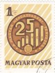 Sellos de Europa - Hungría -  25 Aniversario...