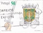 Sellos de Europa - Portugal -  Escudo de armas de Vila Real