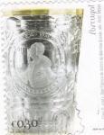 Sellos de Europa - Portugal -  Fábrica de vidrios de Marina Grande s. XVIII