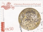 Sellos de Europa - Portugal -  Moneda romana- Museo nacional de arqueología