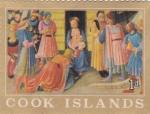 Stamps Oceania - Cook Islands -  Adoración al Niño Jesus- ISLAS COOK