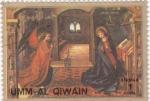 Sellos de Asia - Emiratos Árabes Unidos -  Momento de la vida de Jesús de Nazaret- UMM AL QIWAIN