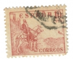 Stamps of the world : Spain :  El cid Campeador