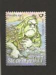Sellos de Europa - Eslovenia -  Mitología eslovena