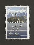 Stamps Slovenia -  Campeonatos mundiales de remo