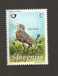 Stamps Slovenia -  Escribano hortelano